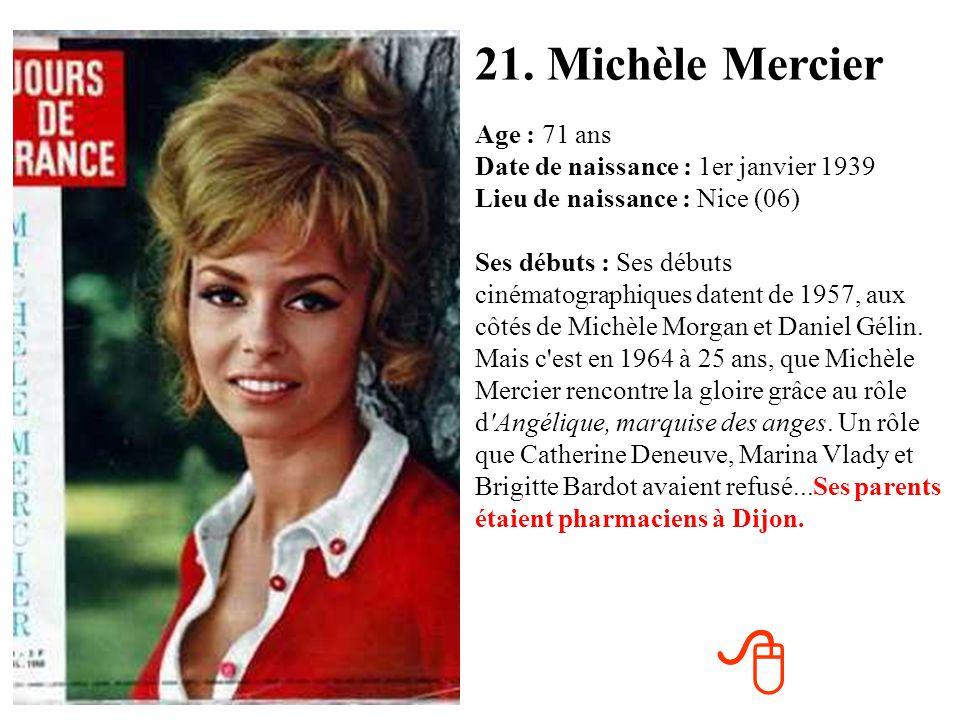 21. Michèle Mercier