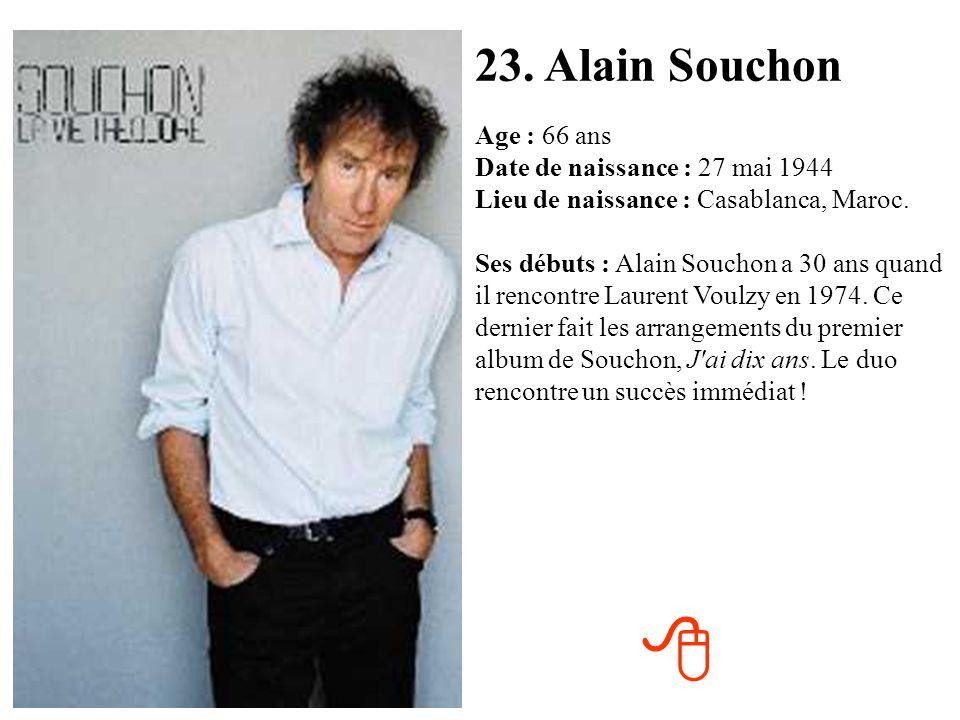23. Alain Souchon