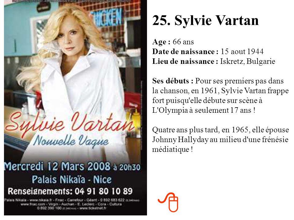 25. Sylvie Vartan