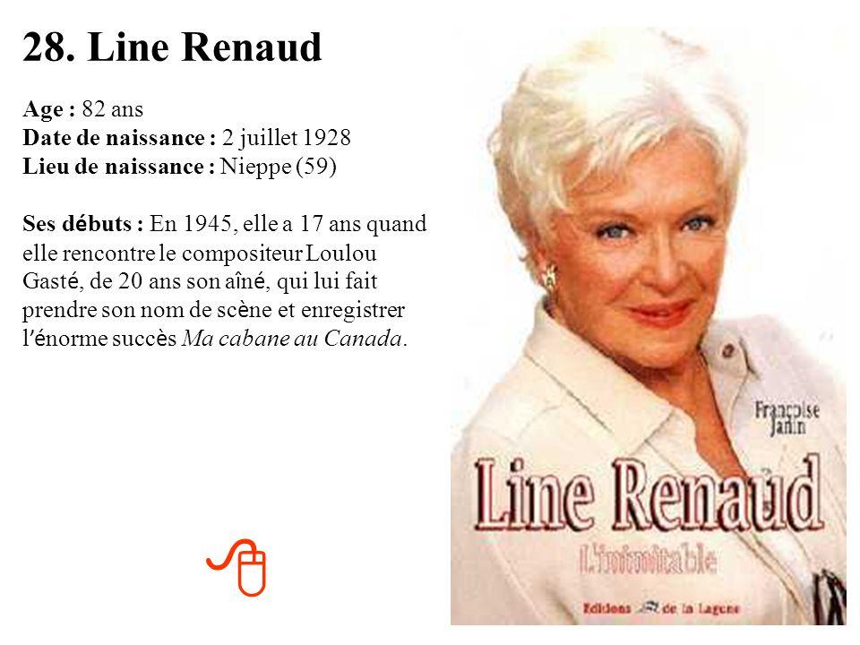 28. Line Renaud