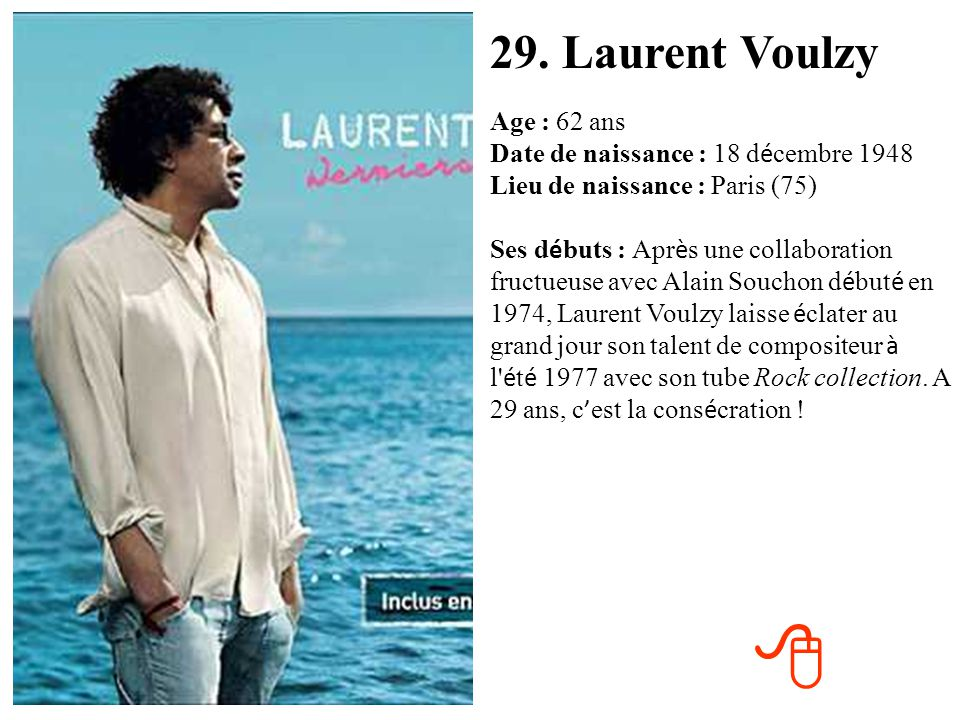 29. Laurent Voulzy