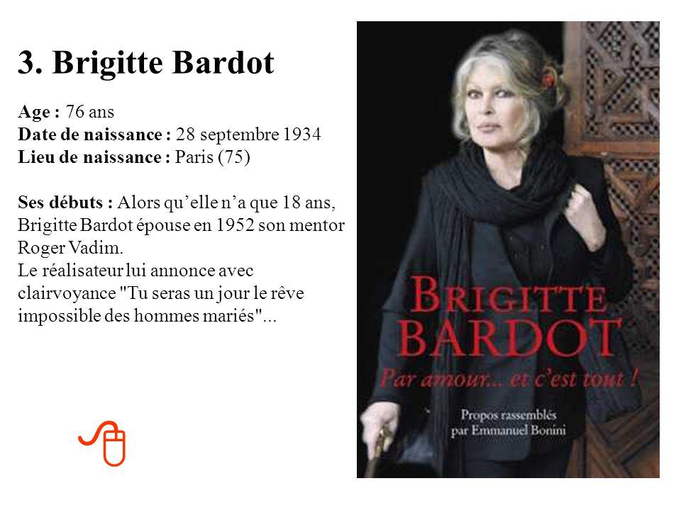 3. Brigitte Bardot