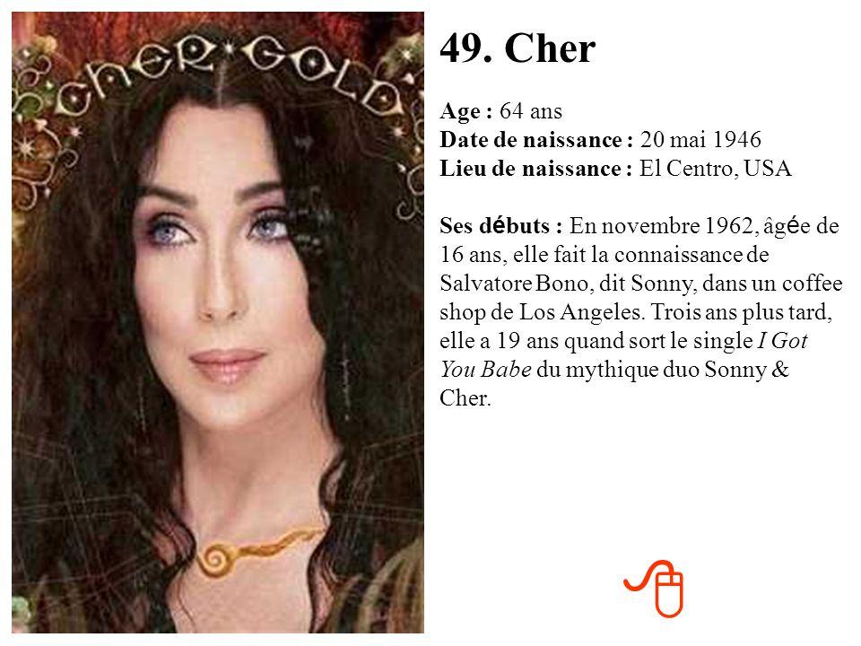 49. Cher