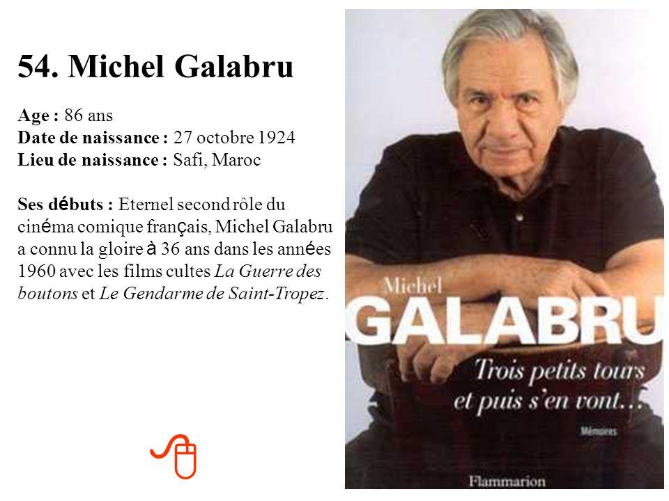 54. Michel Galabru