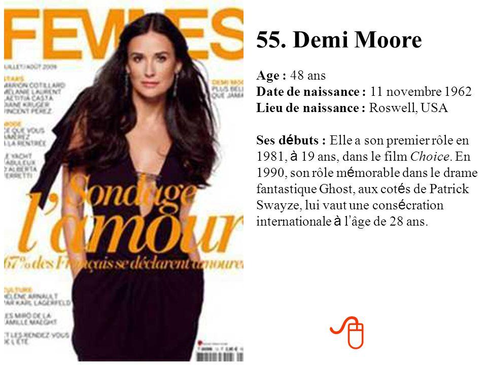 55. Demi Moore