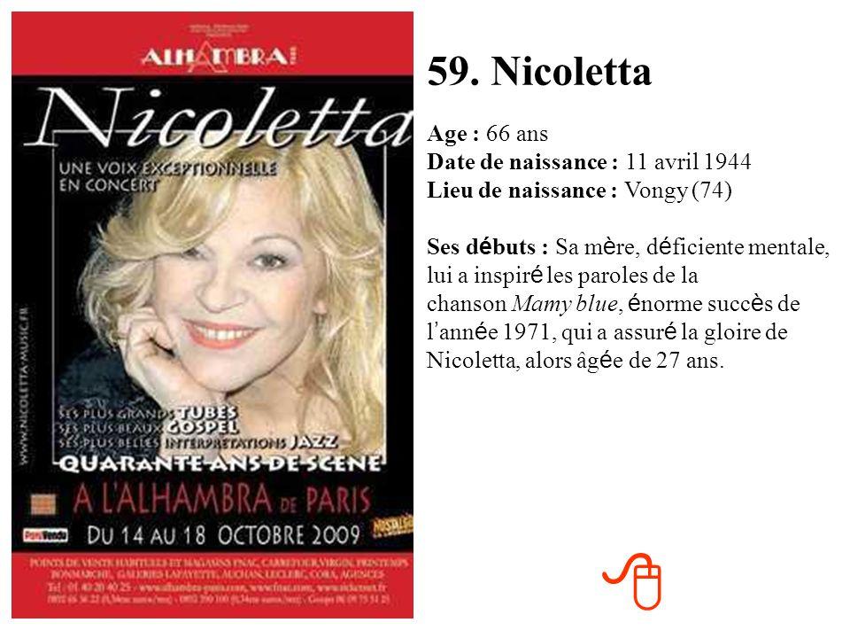 59. Nicoletta