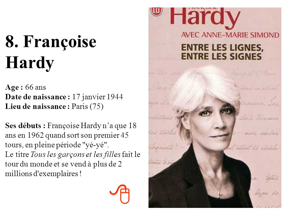 8. Françoise Hardy