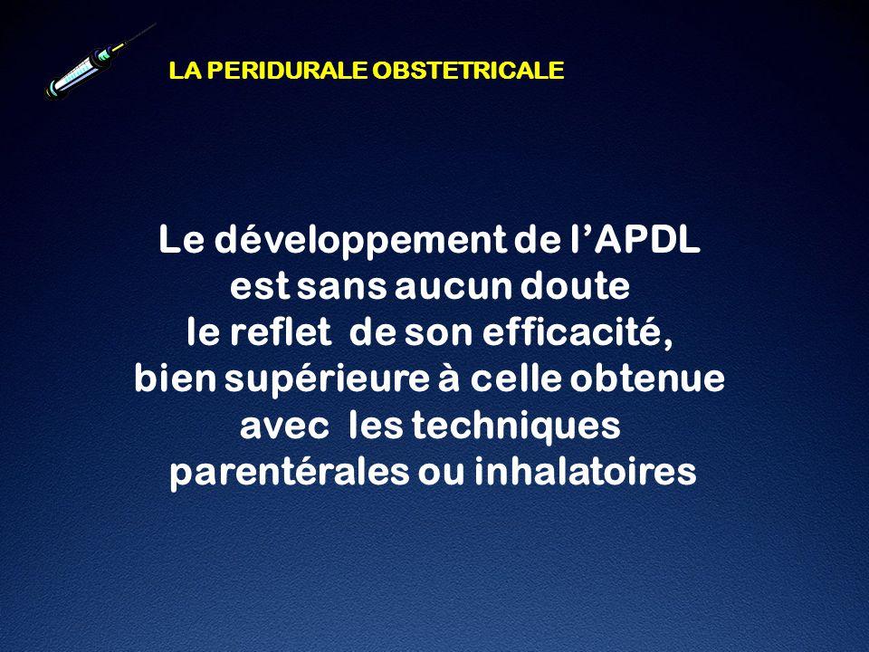 Le développement de l'APDL est sans aucun doute