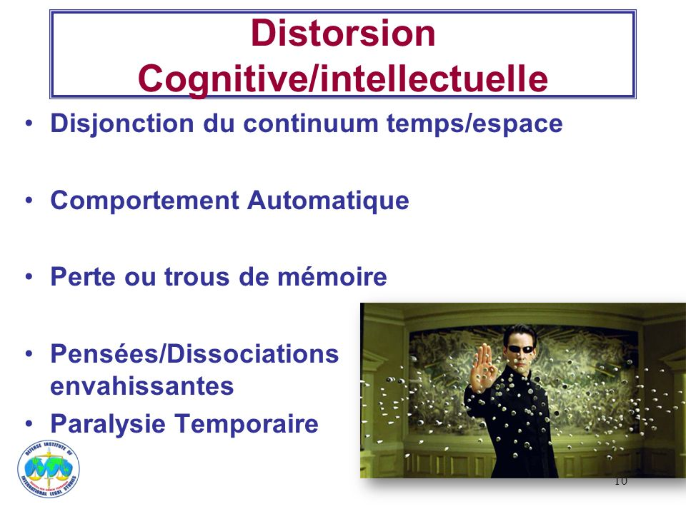 Distorsion Cognitive/intellectuelle