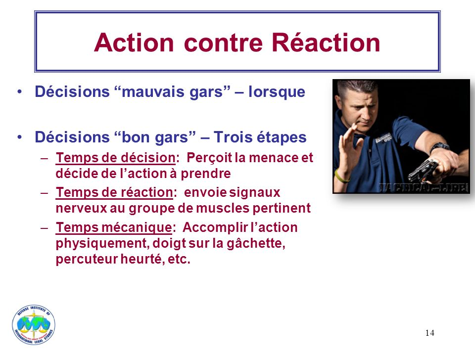 Action contre Réaction