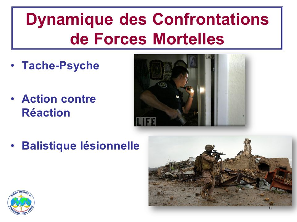 Dynamique des Confrontations de Forces Mortelles