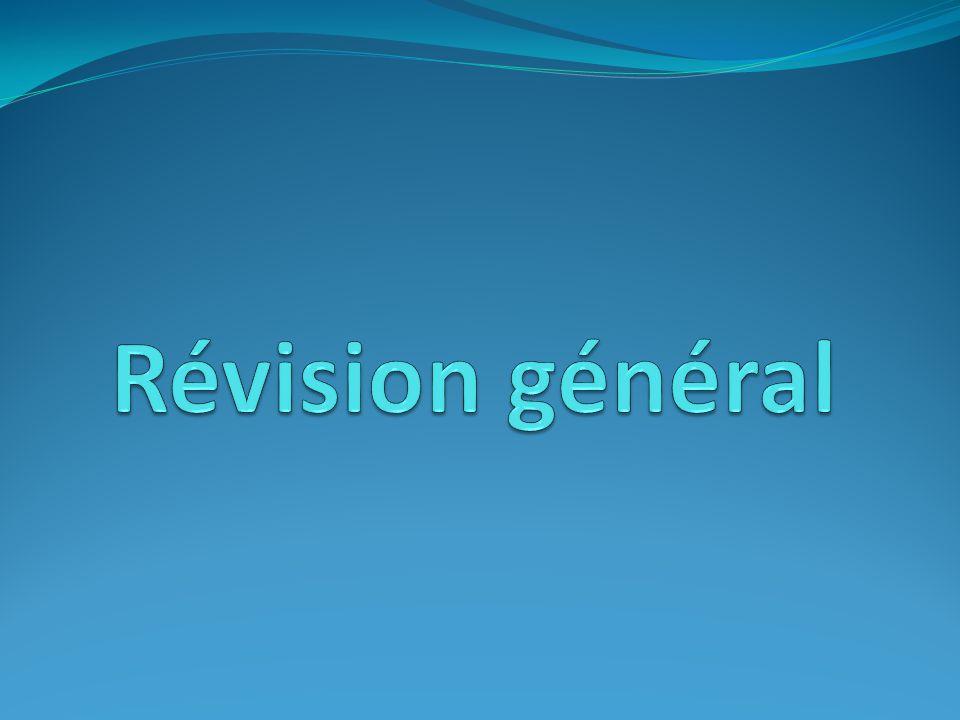 Révision général