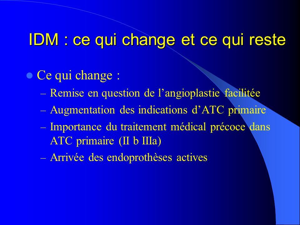 IDM : ce qui change et ce qui reste