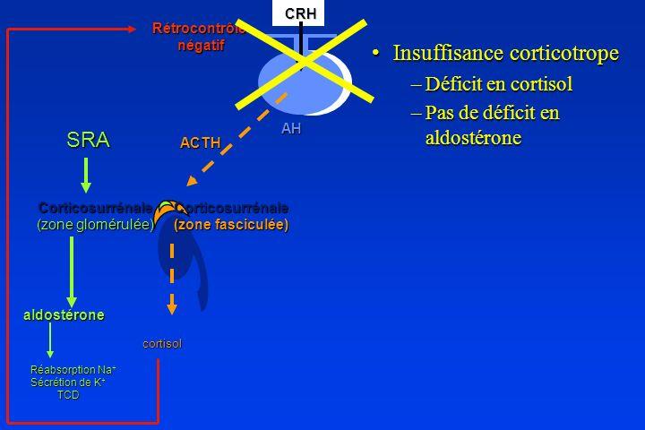 Insuffisance corticotrope