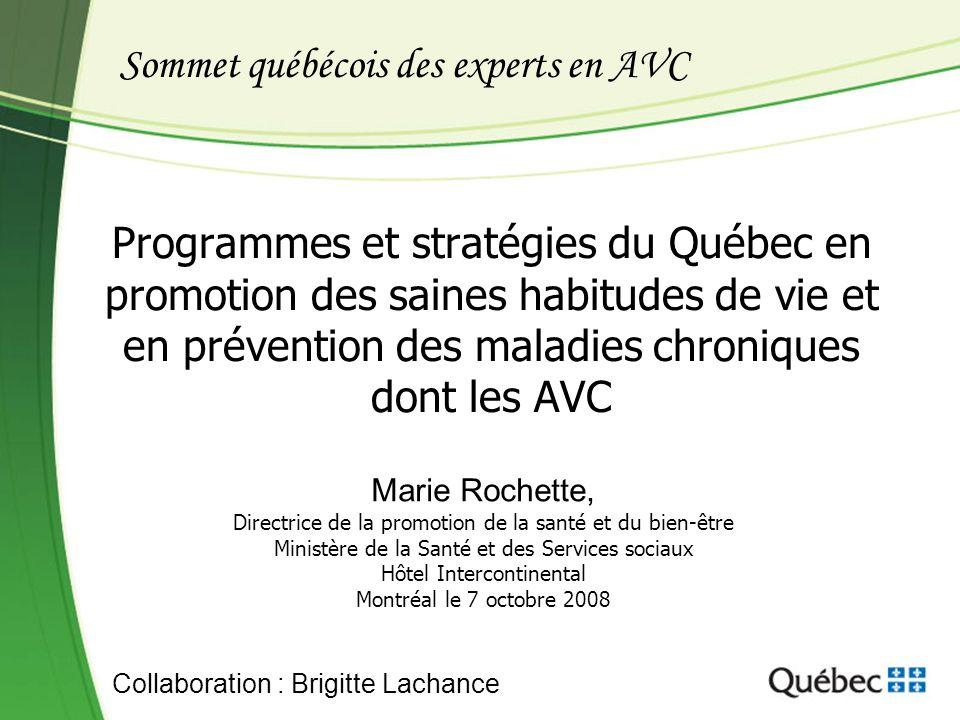 Sommet québécois des experts en AVC