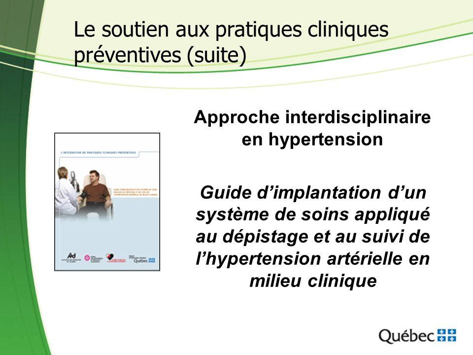 Approche interdisciplinaire en hypertension