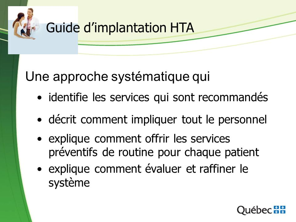 Guide d'implantation HTA