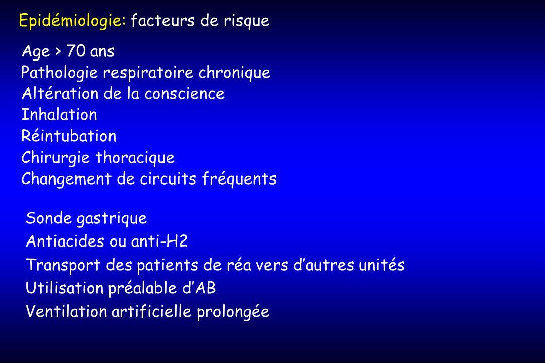 Epidémiologie: facteurs de risque