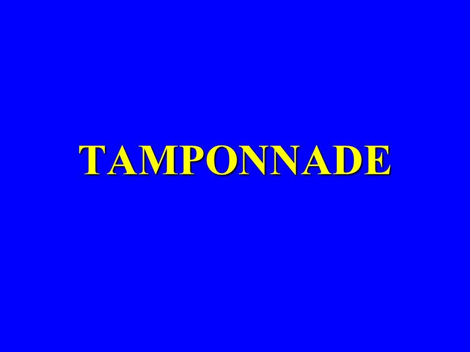 TAMPONNADE