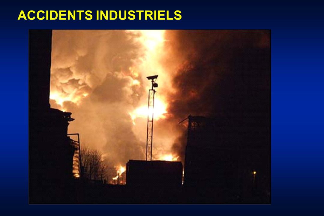 ACCIDENTS INDUSTRIELS