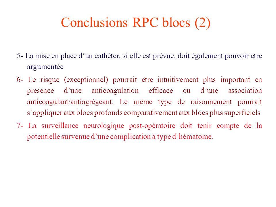 Conclusions RPC blocs (2)