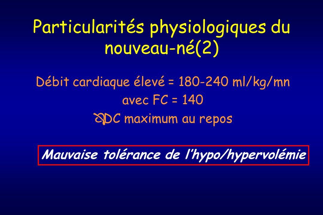 Particularités physiologiques du nouveau-né(2)