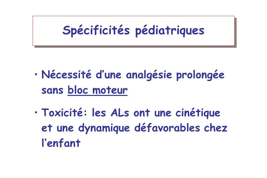 Spécificités pédiatriques