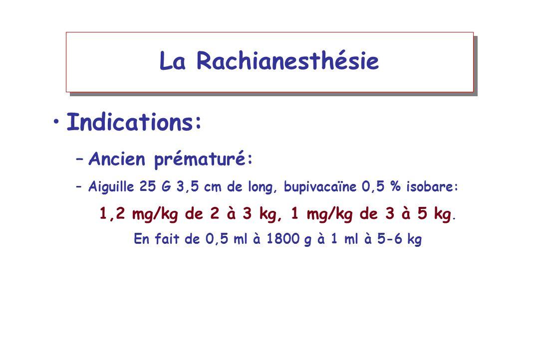 1,2 mg/kg de 2 à 3 kg, 1 mg/kg de 3 à 5 kg.