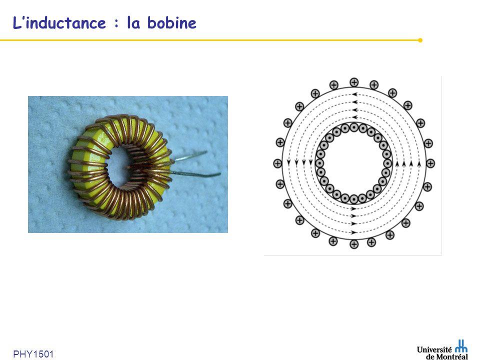 L'inductance : la bobine