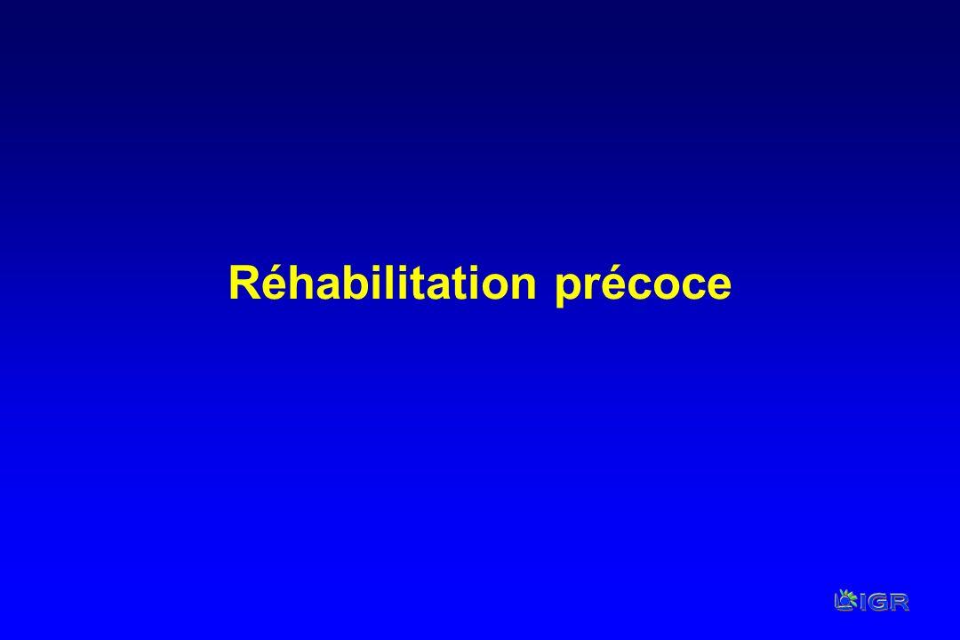 Réhabilitation précoce