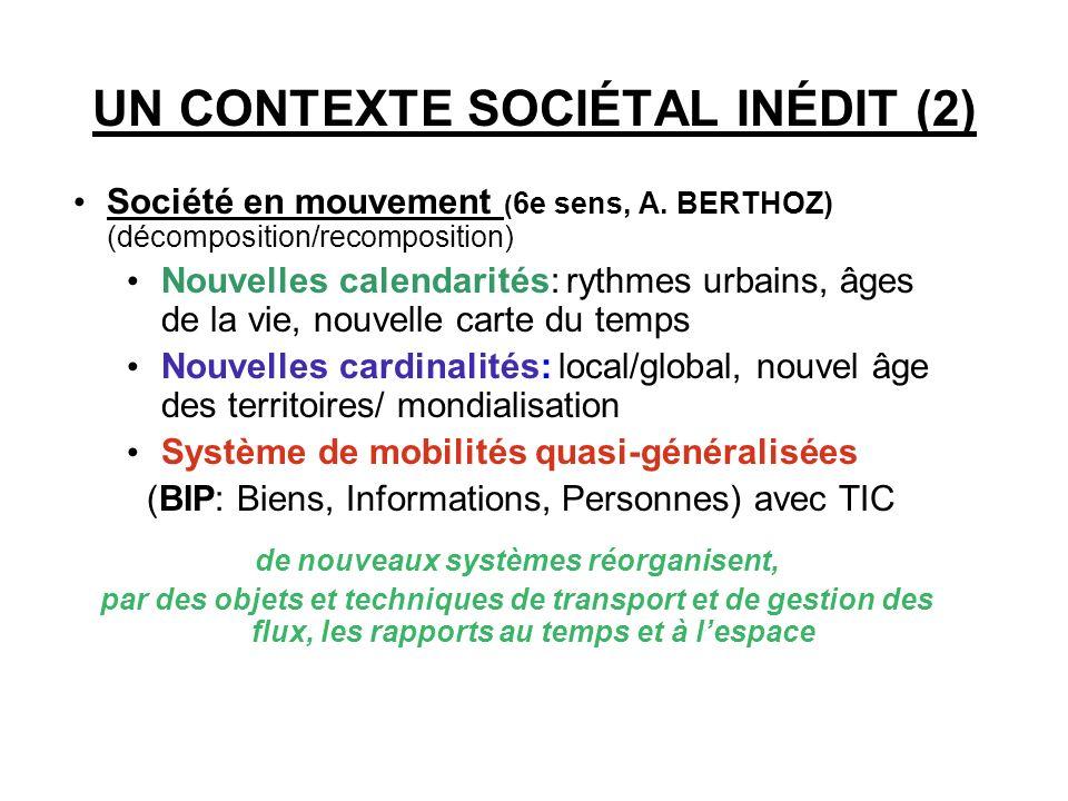 UN CONTEXTE SOCIÉTAL INÉDIT (1)