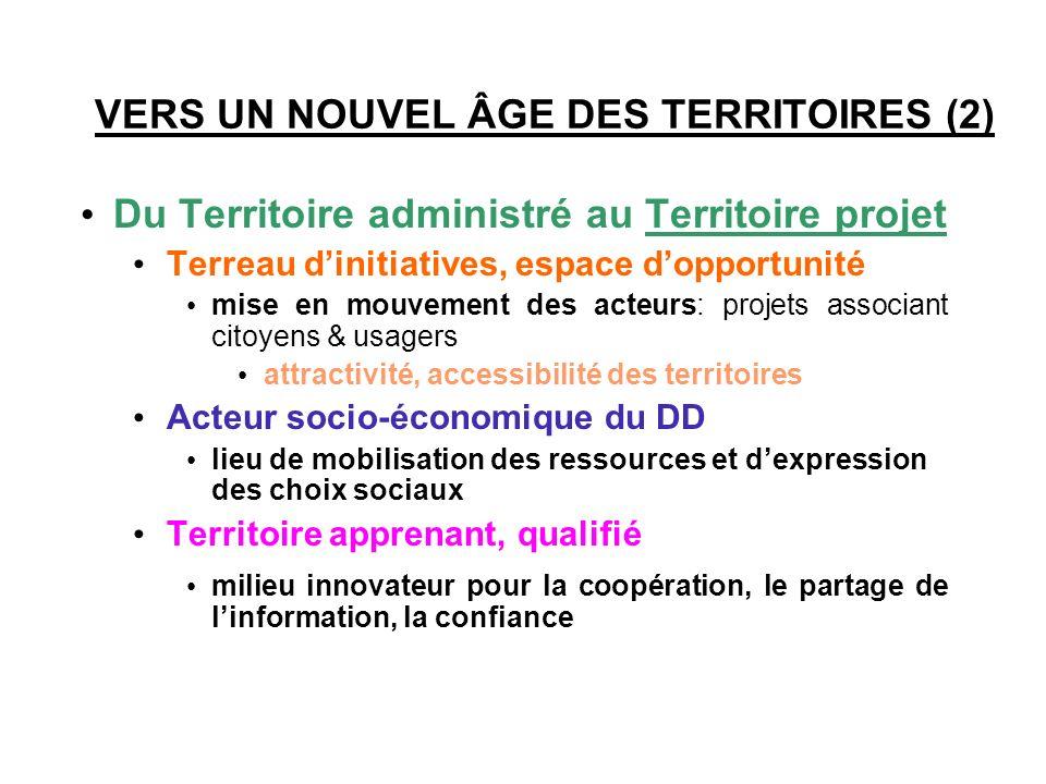 VERS UN NOUVEL ÂGE DES TERRITOIRES (1)
