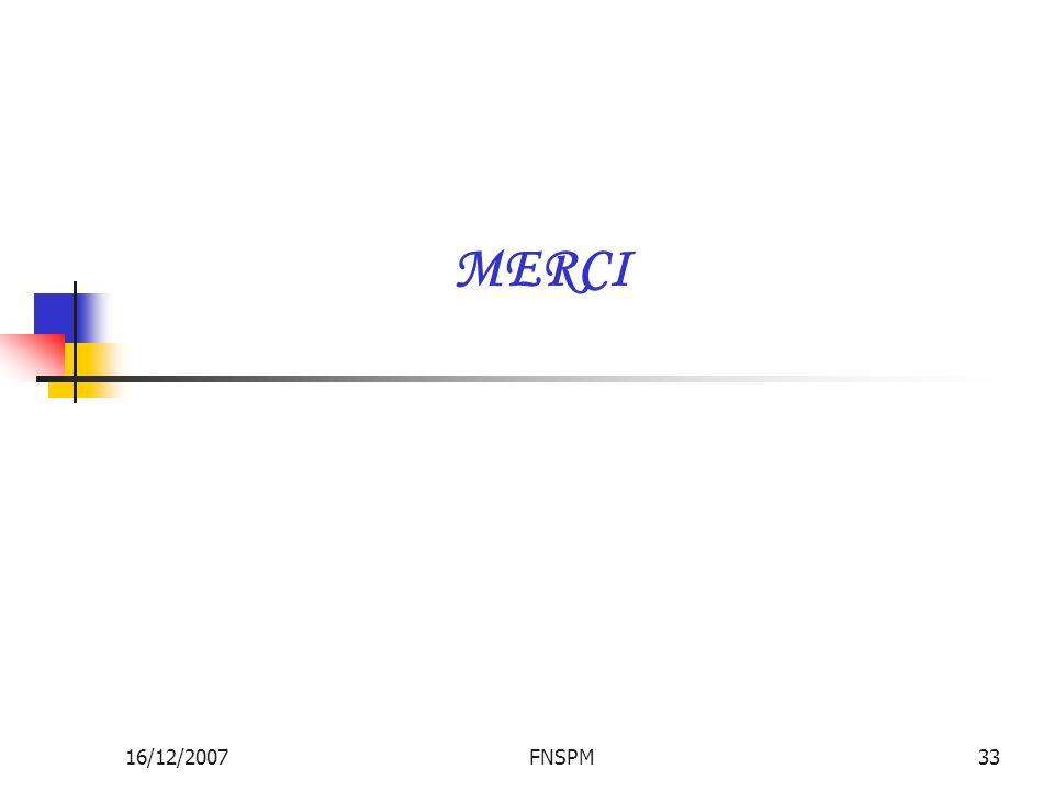 MERCI 16/12/2007 FNSPM