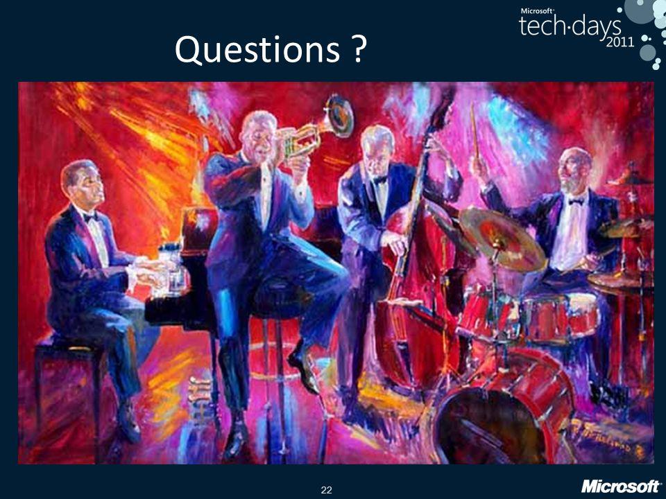 Questions Un groupe de jazz est la meilleur équipe auto organisée