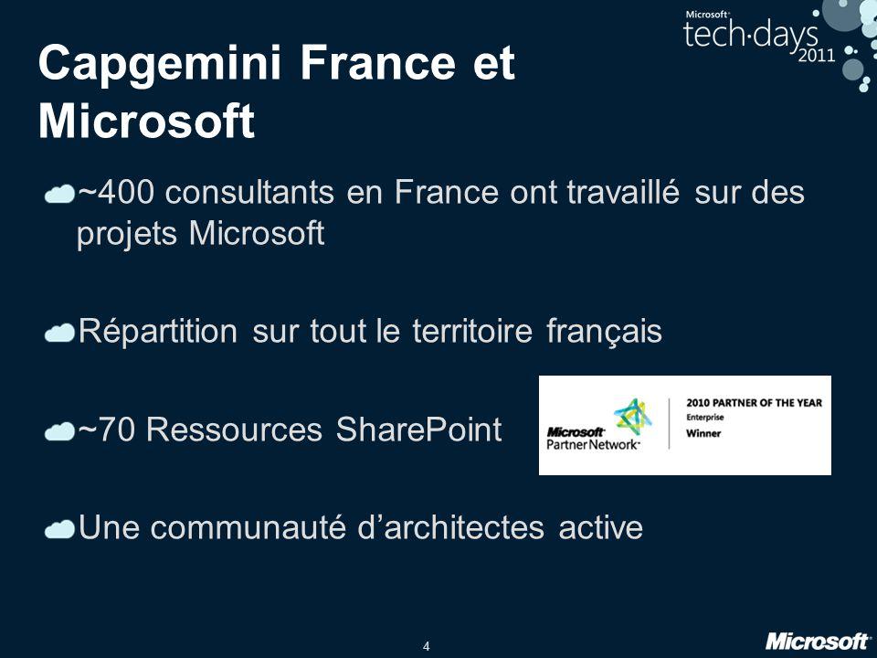 Capgemini France et Microsoft