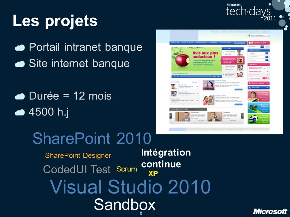 Visual Studio 2010 Les projets SharePoint 2010 Sandbox
