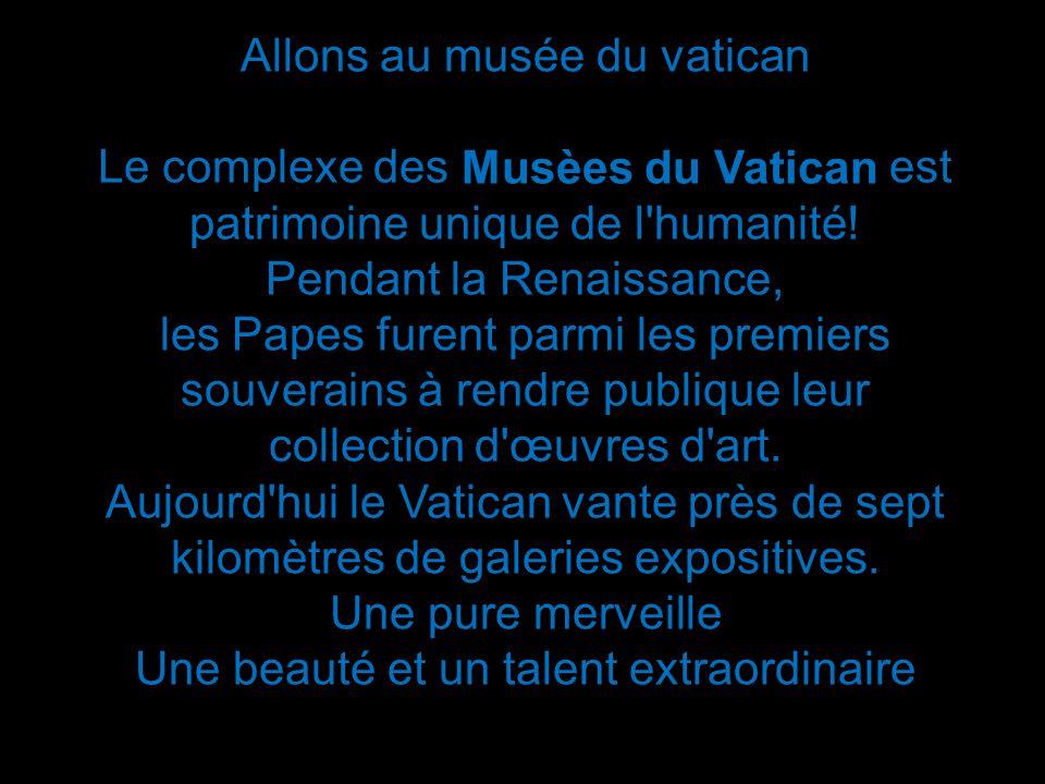 Allons au musée du vatican