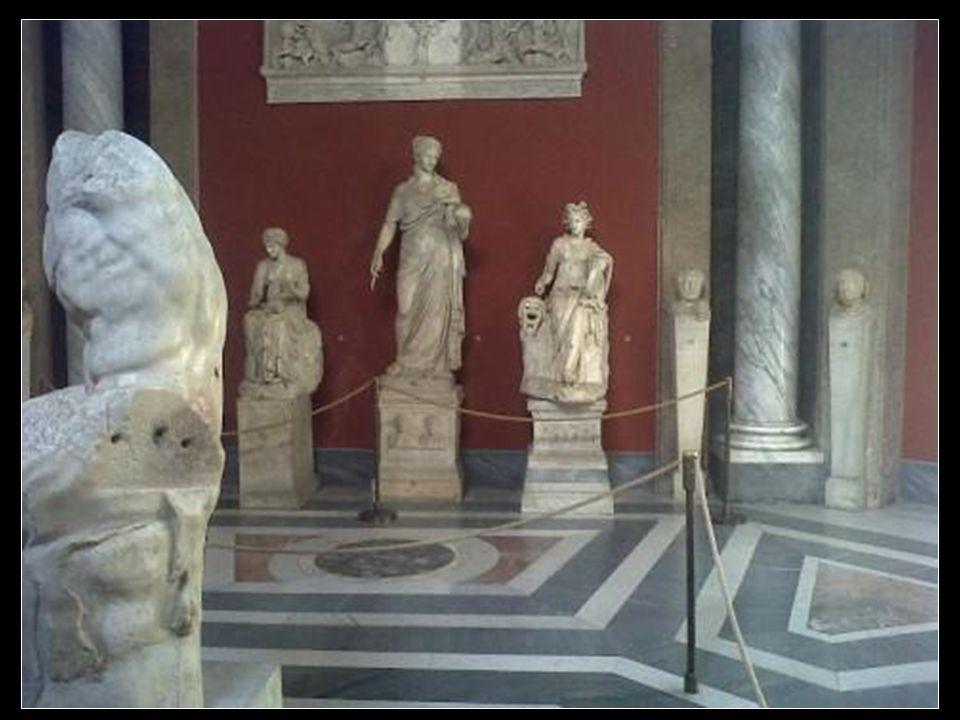 Les sculptures des musées du vatican