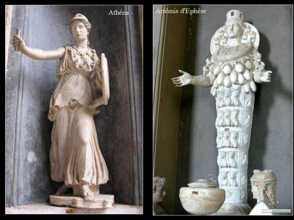 Athéna - Artémis d Ephèse