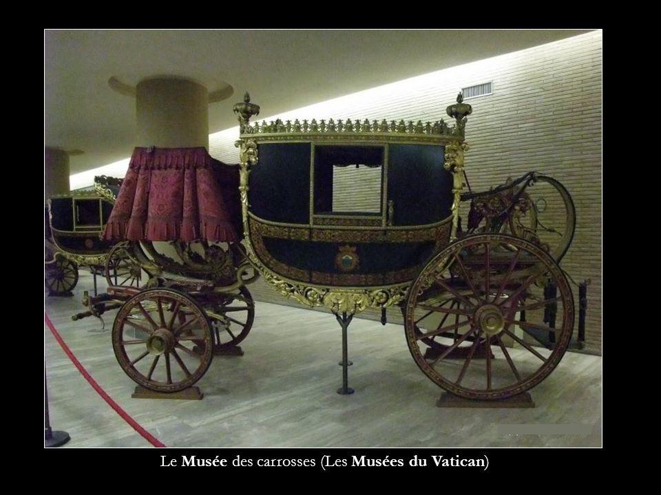 Le Musée des carrosses (Les Musées du Vatican)