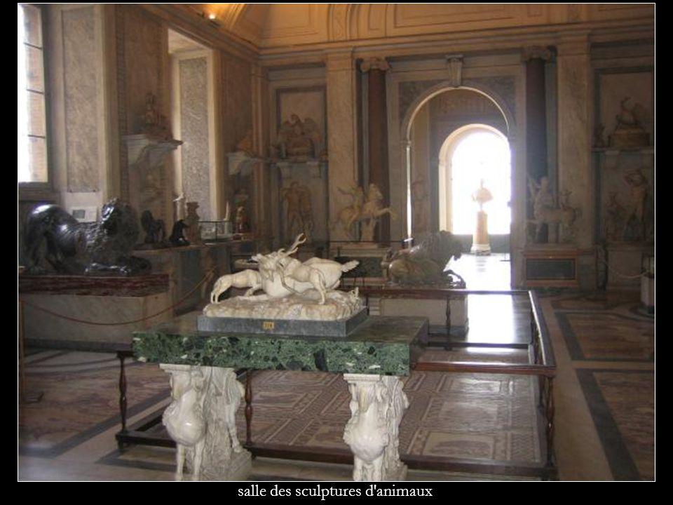 salle des sculptures d animaux