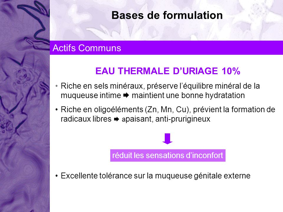 EAU THERMALE D'URIAGE 10%