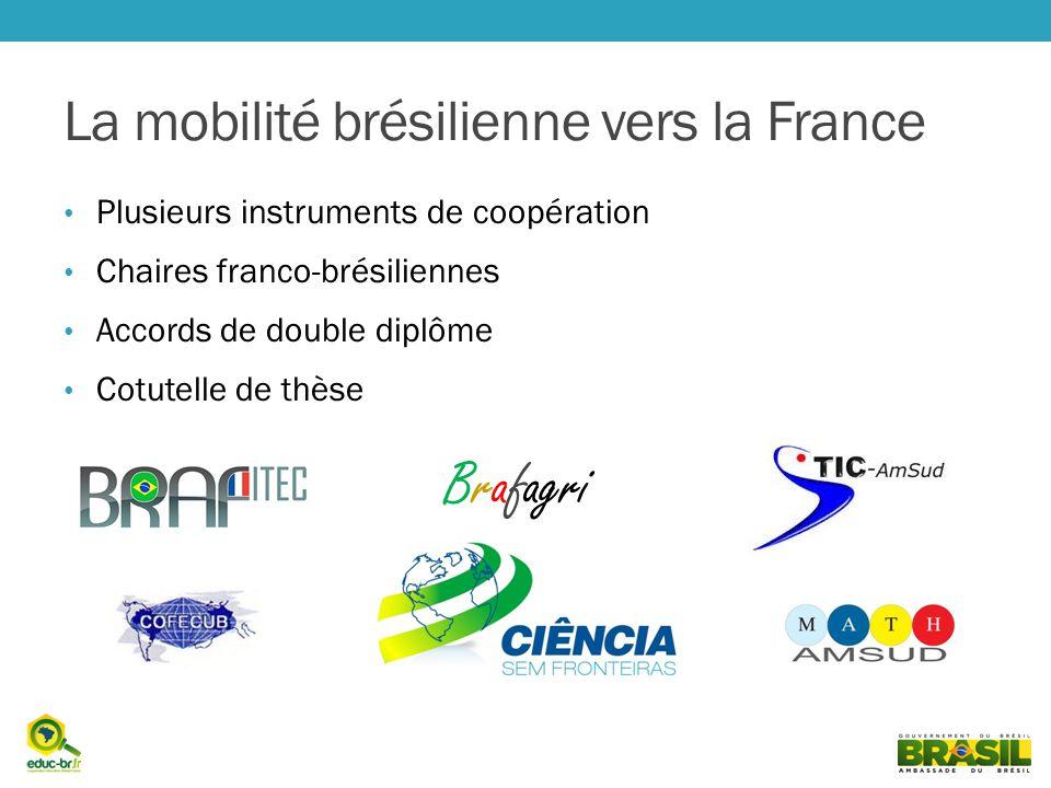 La mobilité brésilienne vers la France