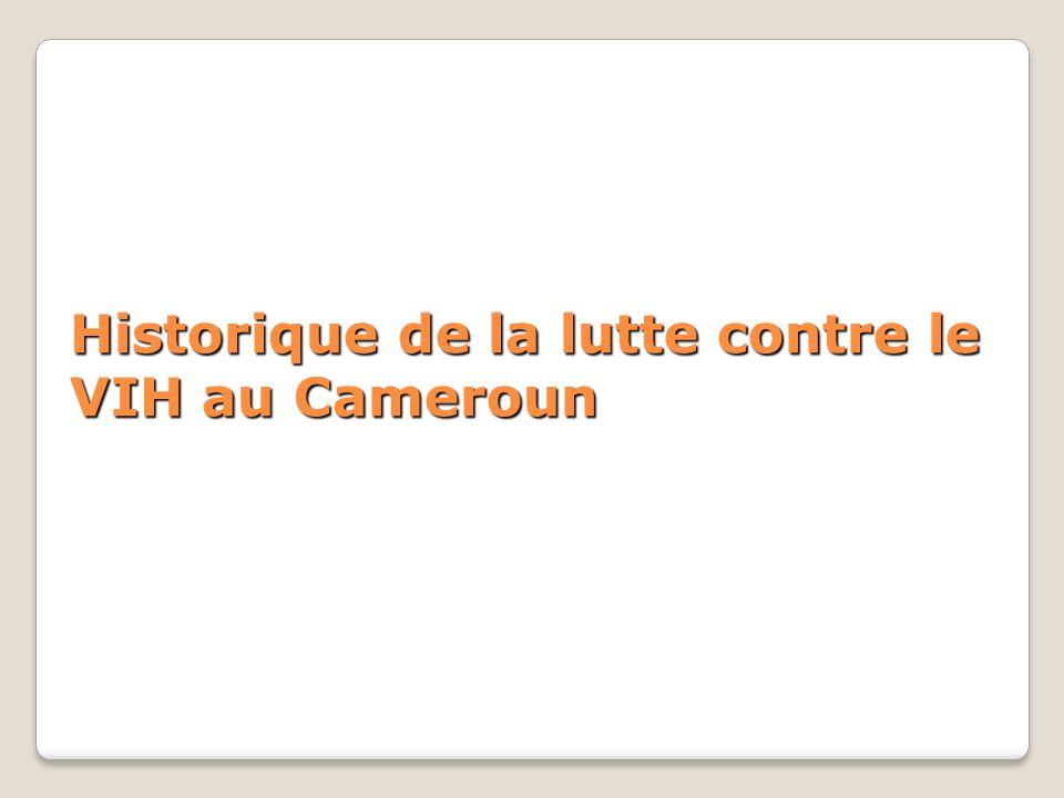 Historique de la lutte contre le VIH au Cameroun