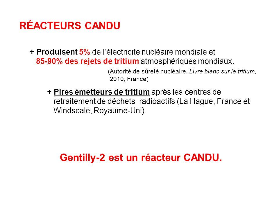 Gentilly-2 est un réacteur CANDU.
