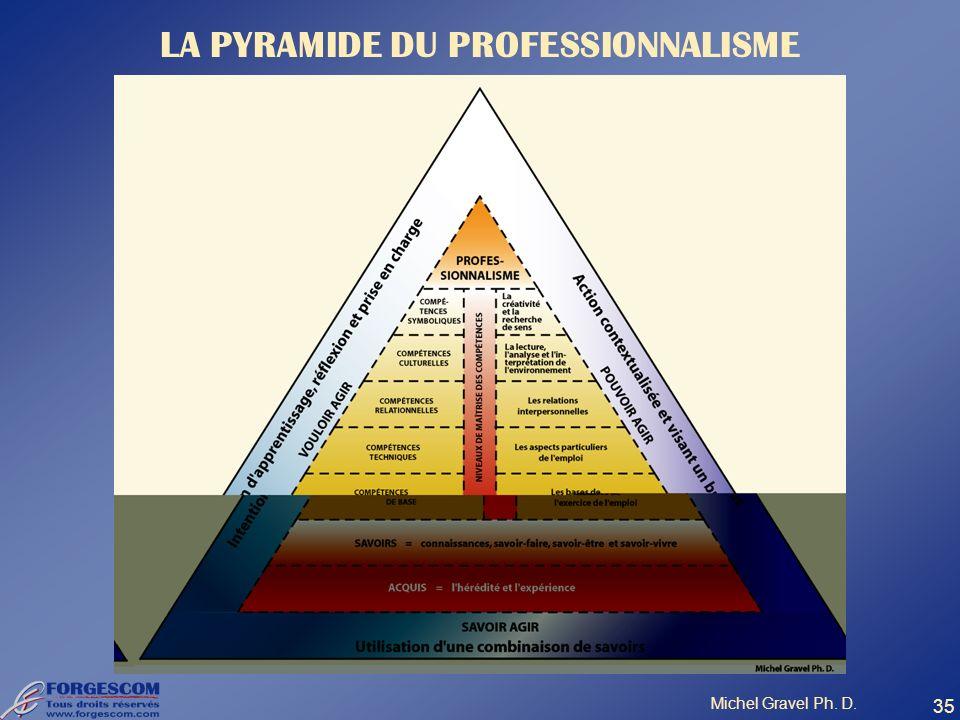 LA PYRAMIDE DU PROFESSIONNALISME