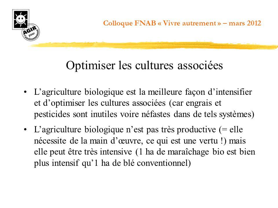 Optimiser les cultures associées