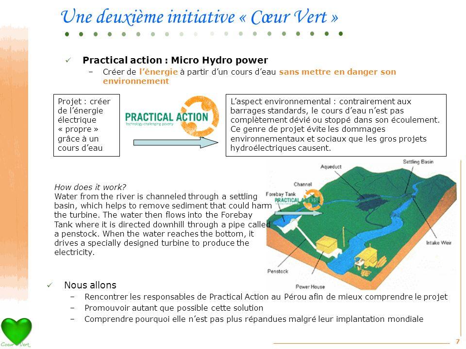 Une deuxième initiative « Cœur Vert »