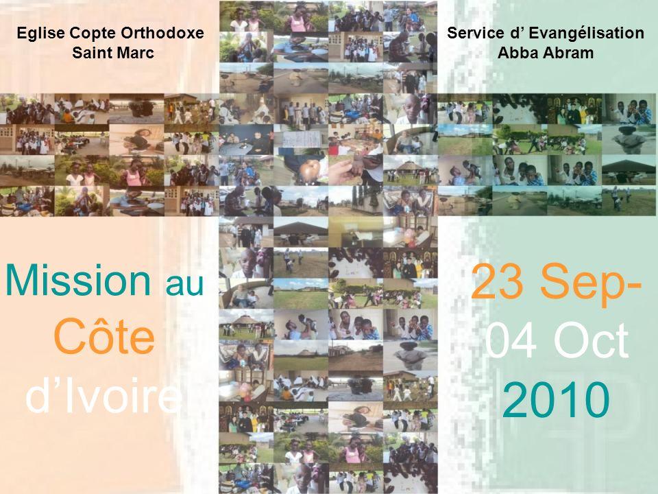 Eglise Copte Orthodoxe Service d' Evangélisation