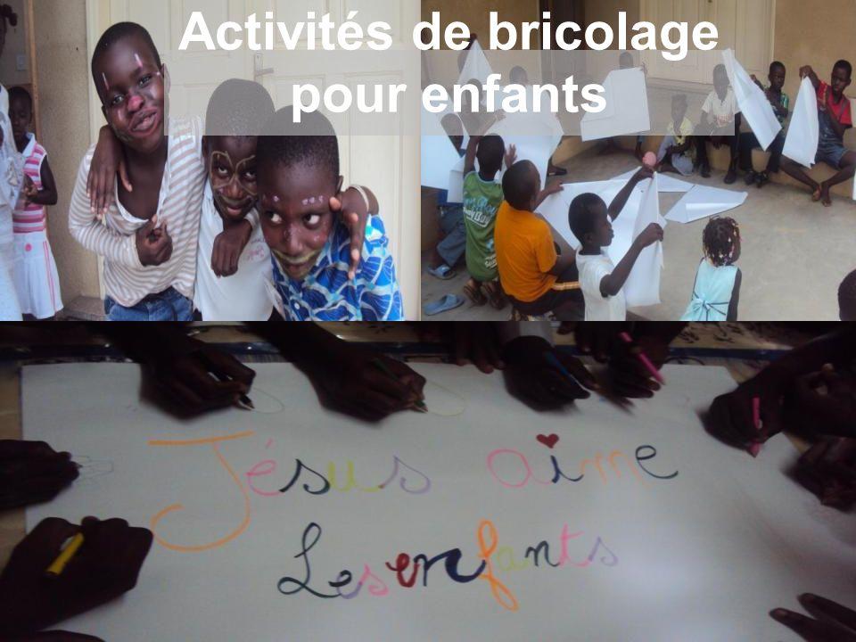 Activités de bricolage pour enfants